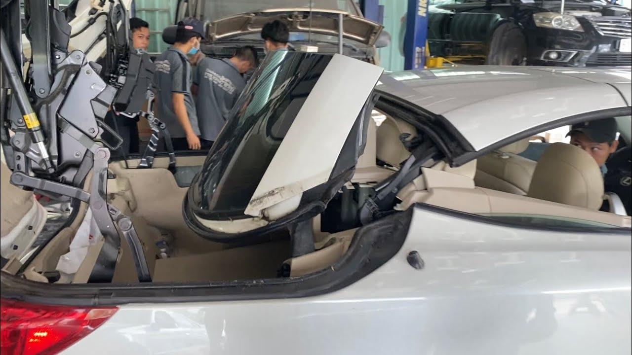 Lỗi cơ bản thường gặp đối với bạn nào ít có kinh nghiệm xe mui trần (mui xếp) – Lexus is250c