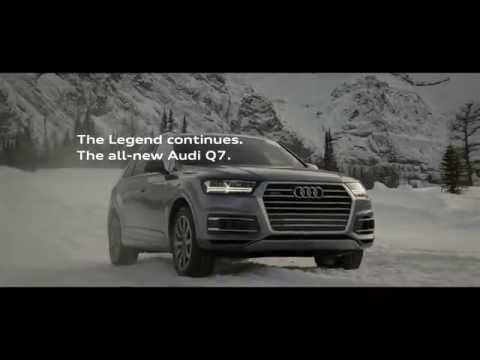 Audi Q Commercial Yeti YouTube - Audi car commercial