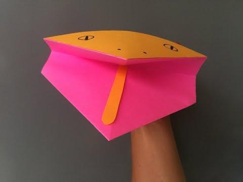 paper snake head
