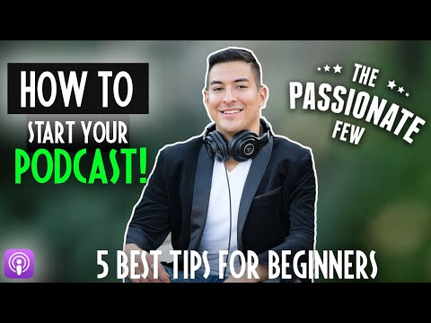 How To Start A Podcast FAST In 2019! 🎙 (5 EASY TIPS FOR BEGINNERS)