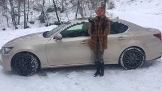 Lexus GS 350 2017 Тест-драйв KoshkaUSSR and Forsage7