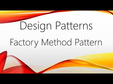 Factory Design Pattern Unity Example