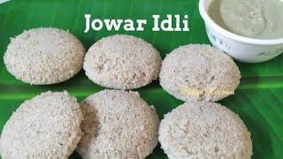మతతట జననఇడల Soft Jowar Idli Jonna IdliHealthy recipe