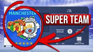 WHAT IF MANCHESTER HAD A SUPER TEAM? FIFA 19 Career Mode Experiment