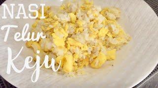 Resep Cara Membuat Nasi Telur Keju