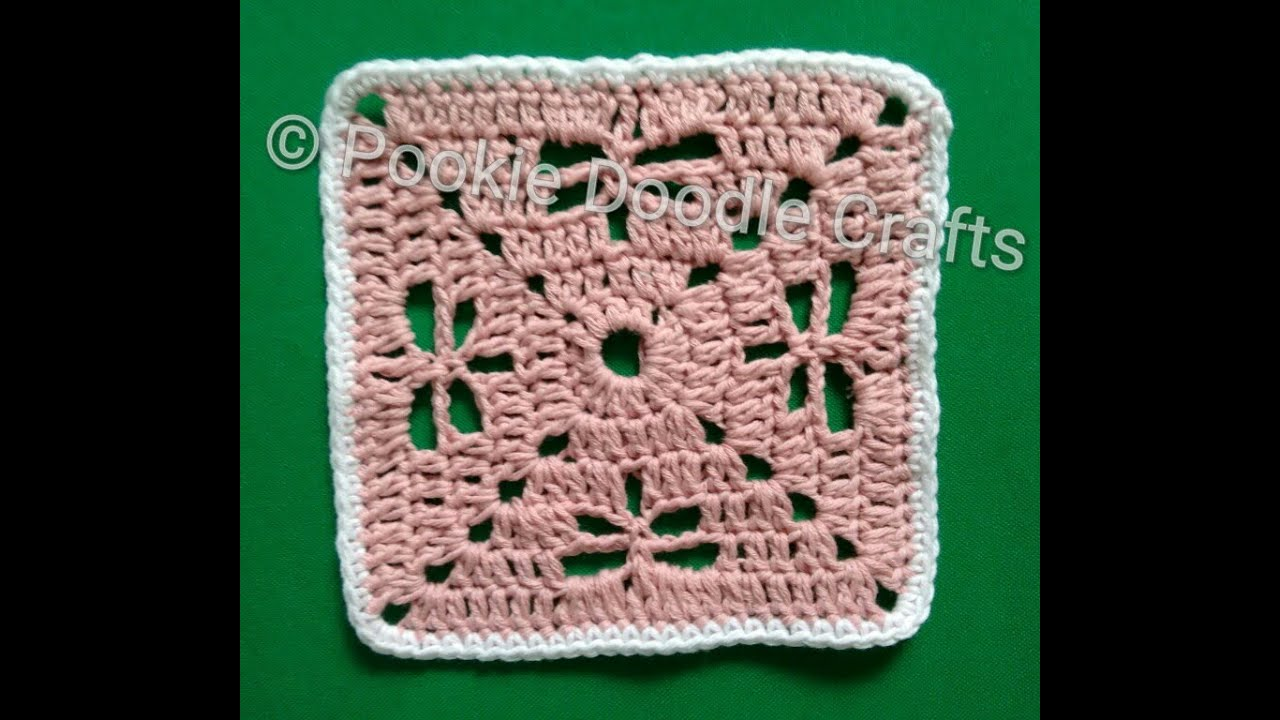 Crochet Dragonfly Stitch Coaster Mat Cal Crochet Along Youtube