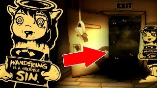 HACKING UPDATED BATIM CHAPTER 1 & 2 | Bendy and The Ink Machine Chapter 1 & 2 update CHEATS SECRETS