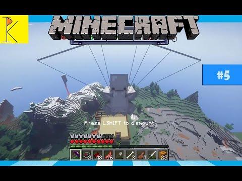Bikin parasut | Minecraft survival mod | part 5