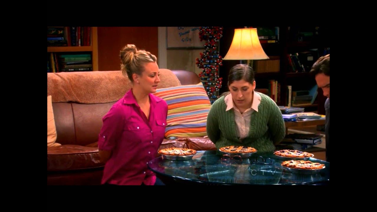 Kaley cuoco penny in big bang theory s7e11 laundry night - 2 part 9