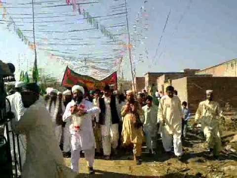 The Naradada decorated at the event of MILAD-E-MUSTAFA