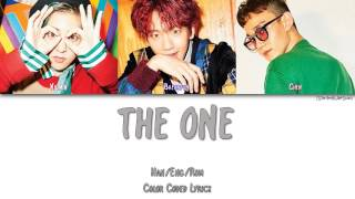 Gambar cover EXO-CBX (첸백시) - THE ONE [Color Coded Han|Rom|Eng]
