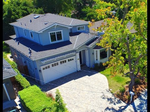 2161 Camino de los Robles - Menlo Park, CA by Douglas Thron drone real estate virtual aerial tour