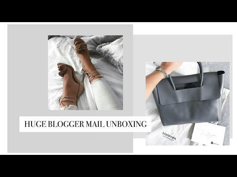 HUGE UK BLOGGER MAIL UNBOXING   PR Packages and Lots of FREE Stuff!   Freya Farrington