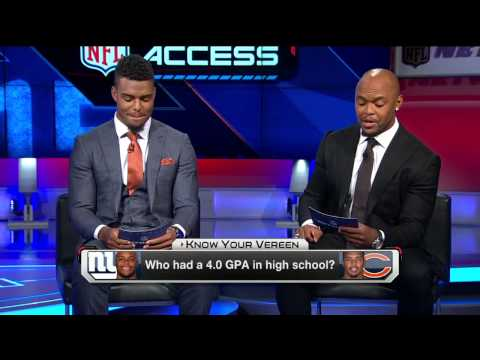 Shane Vereen, Brock Vereen play Know Your Vereen