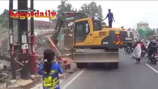 Jalur Puncak Bogor Dilebarkan, PKL Ditertibkan