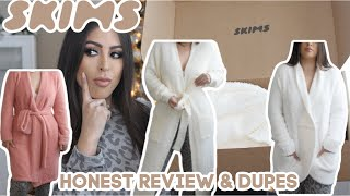 SKIMS Cozy Collection Unsponsored REVIEW & DUPES