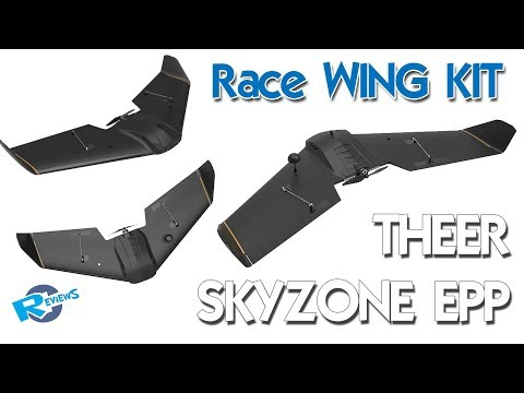 Theer - Skyzone EPP Race WING at 860mm - part 1