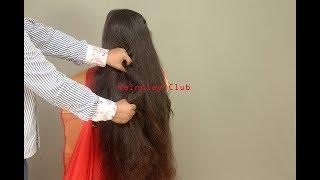 Romantic Long Hair Play of Santu