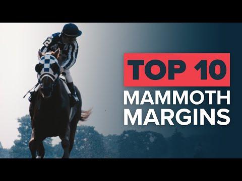 TOP 10 EPIC HORSE RACING WINS | SECRETARIAT BY 31 LENGTHS!