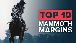 TOP 10 EPIC HORSE RACING WINS | SECRETARIAT BY 31 LENGTHS!