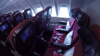 Virgin Atlantic - Economy in the Upper Deck! (aka the bubble!)