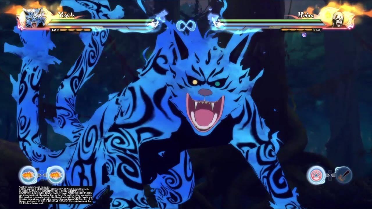 Naruto Shippuden Ultimate Ninja Storm 4 Yugito Nii 2 Tailed Beast Matatabi All Moves Awakening
