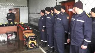 Іллінецькі рятувальники відтепер із апаратами захисту дихання