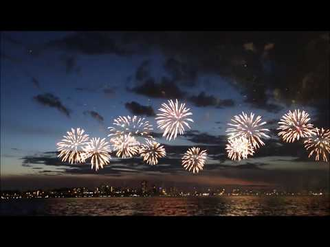 Perth Skyworks - Australia Day Fireworks 2016