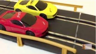 đồ chơi xe đua dùng điện , chạy trên đường ray có điều khiển kết nối với đường ray