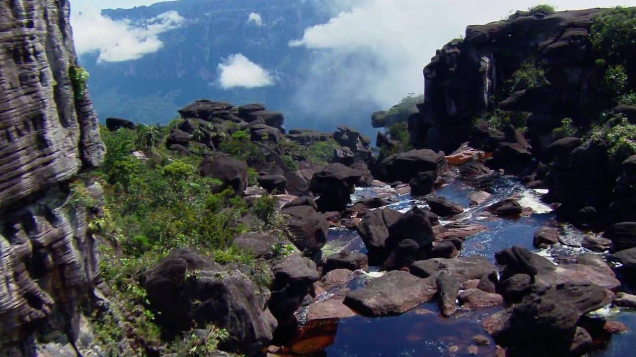 Angel Falls Venezuela Wallpaper Planet Earth Angel Falls 1080p Full Hd Youtube
