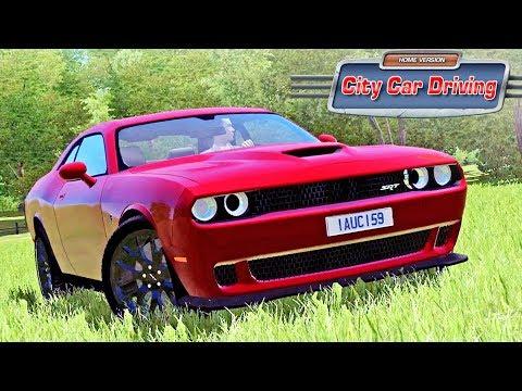 City Car Driving - Dodge Challenger SRT Hellcat