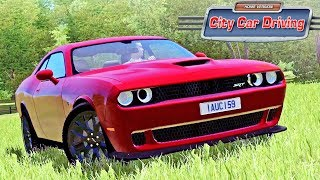 City Car Driving - Dodge Challenger SRT Hellcat