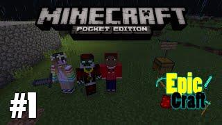 Serie em multiplayer - EpicCraft #1 (Minecraft PE 0.13.0)