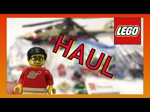LEGO Giant Dino Helicopter Haul - and some small stuff too