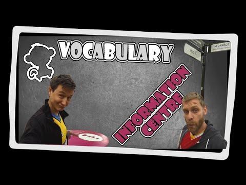 Information centre - English vocabulary