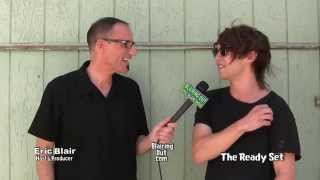 The Ready Set talks with Eric Blair @ Vans Warped Tour 2014