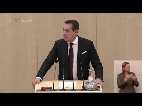 """Heinz-Christian Strache (FPÖ) und der """"Witz des Tages"""""""