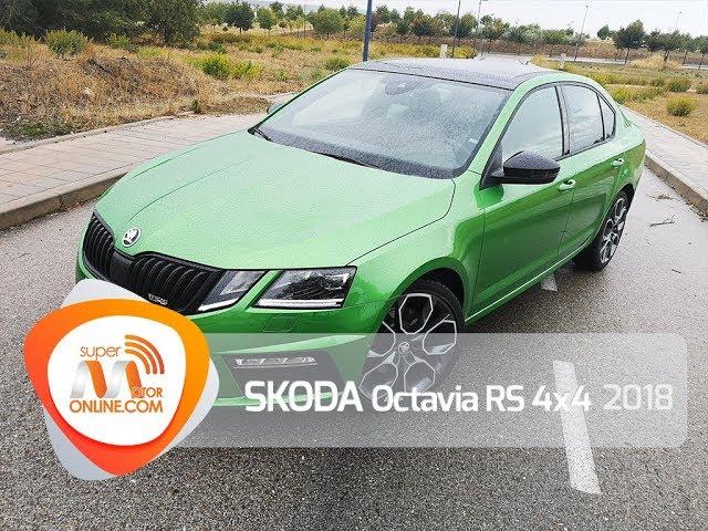 Skoda Octavia RS 4X4 2018 / Al volante / Prueba dinámica / Review / Supermotoronline.com