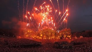 David Guetta  @ Tomorrowland 2014 WE1 Announces Tomorrowland-Brazil - Lovers On The Sun - Fireworks