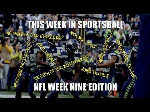 This Week in Sportsball: NFL Week Nine Edition (2018)
