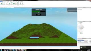 ROBLOX: How-to/tutorial como fazer Terrain + PBS + dicas! * Voz, 2014, HD *