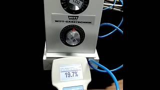OXYBABY P 휴대용 CO2 분석기 + KM60-2…