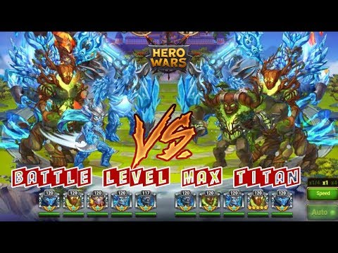 Battle Level Max Titan Heroes Wars
