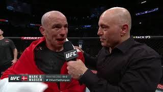 UFC 248: Mark Madsen Octagon Interview