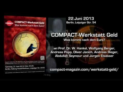 COMPACT Werkstatt Geld - Was kommt nach dem Euro?