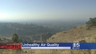 Poor Air Quality From Fires Leads Multiple School Districts To Cancel Classes