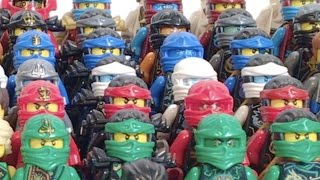 LEGO Ninjago COMPLETE Ninja Suit Collection UPDATED!