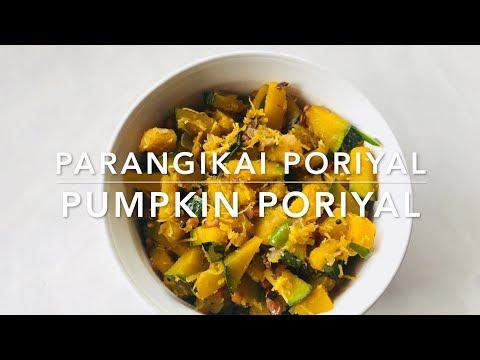 Parangikai Poriyal |  Pumpkin Poriyal | English Subtitle