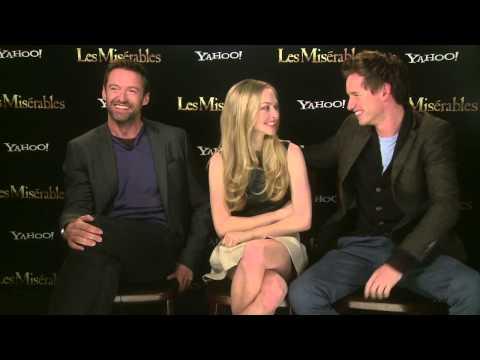 Les Miserables  with Hugh Jackman, Eddie Redmayne and Amanda Seyfried