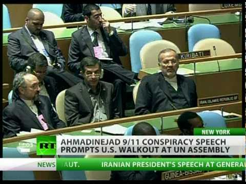 Ahmadinejad 9/11 jibe sparks US walkout at UN assembly